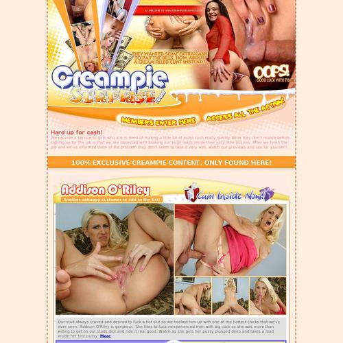 cream pie surprise