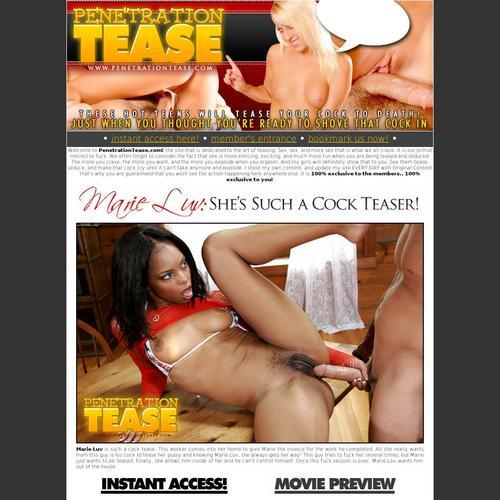 penetration tease
